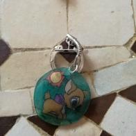 le porte clés pour mon Bibou