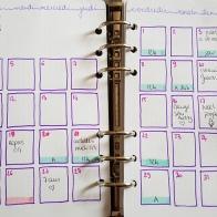 Avec le planning mensuel